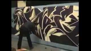 getlinkyoutube.com-Graffiti Street Art - Dare 4