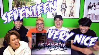 getlinkyoutube.com-SEVENTEEN (세븐틴) - VERY NICE MV REACTION (FUNNY FANBOYS)