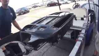 getlinkyoutube.com-Hydro Dip or water transfer printing a Dash of Car or Van