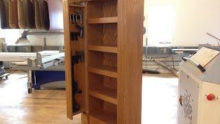 QLine SafeGuard Bookcase with secret hidden compartments