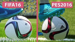 getlinkyoutube.com-FIFA 16 vs. PES | Pro Evolution Soccer 2016 Graphics Comparison PS4 [FullHD][60fps]