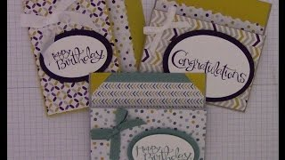 getlinkyoutube.com-Flap Fold Money/Gift Card Holder using Stampin' Up Designer Series paper