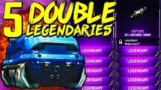 getlinkyoutube.com-5 DOUBLE LEGENDARIES! - BO3 Supply Drop Opening (Black Ops 3 Rare Supply Drops)