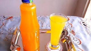 تحضير مركزعصير البرتقال لشهر رمضان مطبخ ساسى