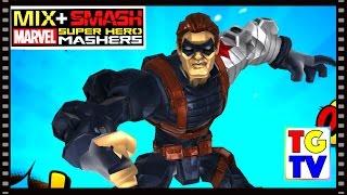 getlinkyoutube.com-Marvel Super Hero Mashers Winter Soldier (Battles Edited) | Mix + Smash