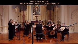 getlinkyoutube.com-Arcangelo Corelli: Concerto in D Major Op. 6 No. 4, complete. Voices of Music; original instruments