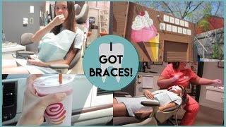 getlinkyoutube.com-GETTING BRACES VLOG! {3-16-16}