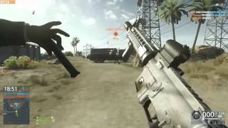 getlinkyoutube.com-【バトルフィールド】100万回に1回のかっこいい激レアリロード【ハードライン】 Battlefield Hardline rare reload