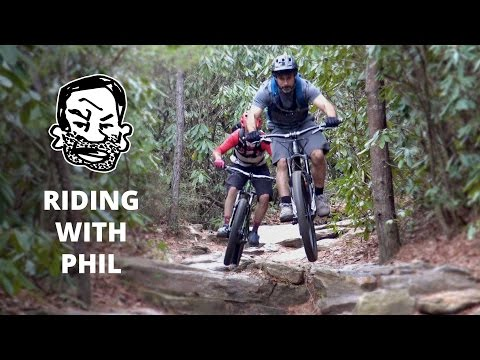 Mountain Biking with Phil Kmetz in North Carolina - RWS EP13