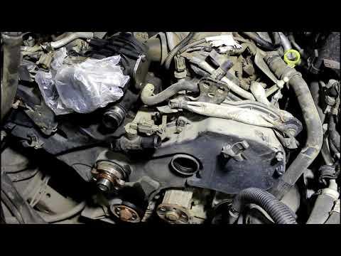 Замена маслонасоса и ремня ГРМ 2часть Land Rover Discovery 3 Ленд Ровер Дискавери 3