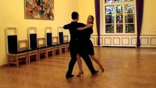 getlinkyoutube.com-Deju kursi - Tango. Divi Soļi un Kreisais Grieziens