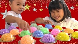 getlinkyoutube.com-つぶつぶねんど プレイフォーム ネバネバしててグニャグニャ おもちゃ Play Foam Toy