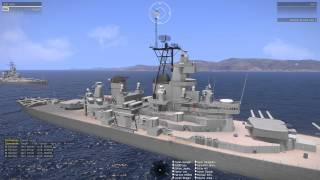 getlinkyoutube.com-Arma3: Fun with the USS Iowa!