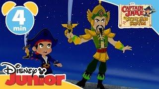 getlinkyoutube.com-Captain Jake and the Never Land Pirates | The Forbidden City | Disney Junior UK