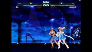 getlinkyoutube.com-[M.U.G.E.N] Eko VS Asamiya Athena