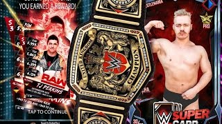 getlinkyoutube.com-Earned an Ultimate + UK Champion Tyler Bate!! - WWE SUPERCARD / RING DOMINATING