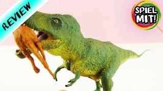 T-REX FRISST BLUTENDES BEUTETIER | fleischfressende Dinosaurier Sammelfigur | Review