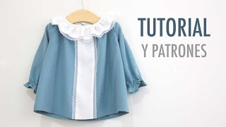 getlinkyoutube.com-DIY Cómo hacer vestido niña (patrones gratis)