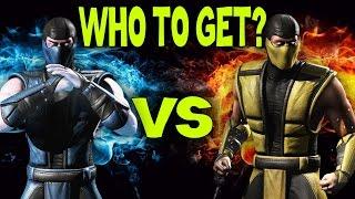 getlinkyoutube.com-Klassic Scorpion or Klassic Sub-Zero. Who is better? (MKX Mobile)