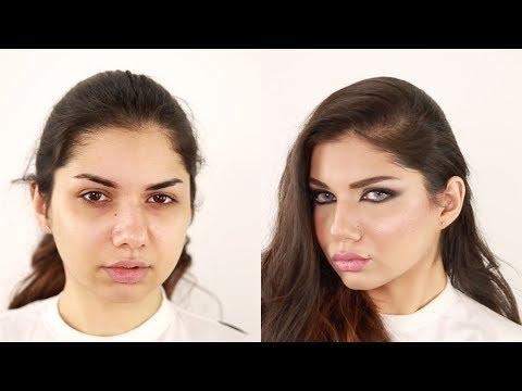 Arabian Haifa Wehbe Inspired Makeup , Hanan Alnajadah مكي