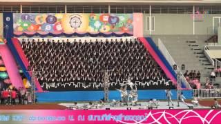 """getlinkyoutube.com-ประมวลภาพ พิธีเปิดการแข่งขันกีฬาสาธิตสามัคคี ครั้งที่ 39 """"จามจุรีเกมส์""""  2/2"""
