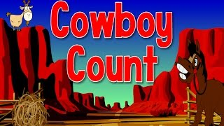 getlinkyoutube.com-Cowboy Count | Count to 100 and Exercise | Jack Hartmann