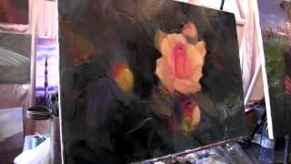Научиться рисовать розы, уроки рисования и курсы живописи, Сахаров