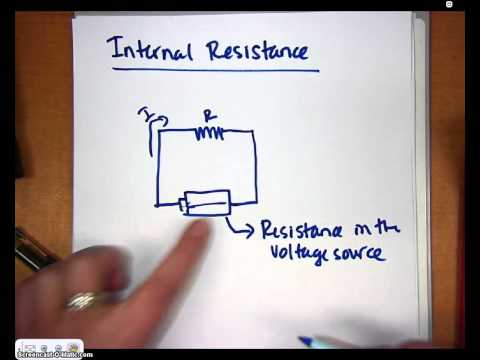 AP Physics Video 7.15 Internal Resistance