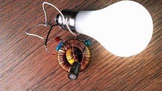 "getlinkyoutube.com-Original Free Energy Generator fort Led Bulb ""Free Energy""!    WasabySajado"