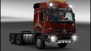 getlinkyoutube.com-[ETS 2] Mercedes MP3 MegaMod v2.0