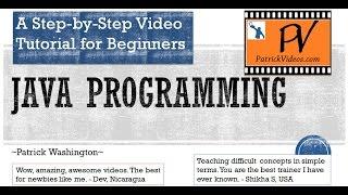 getlinkyoutube.com-Java Programming - Step by Step tutorial