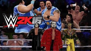 WWE 2K16 - FUNNY ENTRANCES - Huge Day, Evolution Of Sting & Prime Time Authority