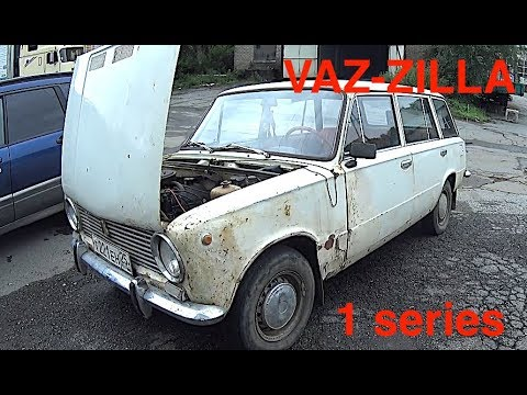 VAZ-Zilla  - Russian car for $ 200 bought, drove, broke, painted (1 series)