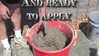 Mortar Conversion Kit for Vertical Decorative Concrete
