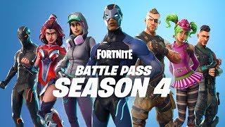 Fortnite - Season 4 Battle Pass
