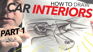 getlinkyoutube.com-How to Draw Car Interiors (Part 1: Basics)