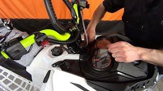 getlinkyoutube.com-Install Rox Height Adjustable Risers on a SkiDoo Freeride