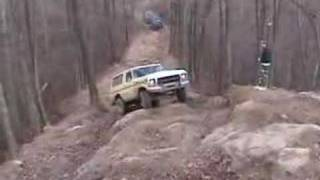 Luke Smith In A Nearly Stock Ford Bronco On Carburetor Hill