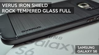 getlinkyoutube.com-Verus Iron Shield & ROCK Tempered Glass pentru Samsung Galaxy S6