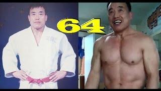 getlinkyoutube.com-Strength of a 64 Yr Old Korean Judo Master