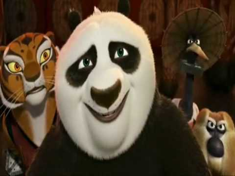 Kung fu Panda 2 Funny Scene - Peacock Laughter with Lord Shen
