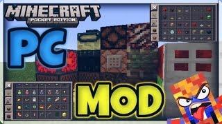 getlinkyoutube.com-Minecraft PE 0.10.5 - PC Mod  Redstone,Ender Pearl