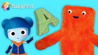 getlinkyoutube.com-The Letter A | Learn English | ABC Galaxy | BabyFirst TV