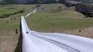 getlinkyoutube.com-The World's Longest Waterslide! By Live More Awesome