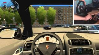 City car driving: Porsche Cayenne Turbo S [G27]