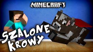 getlinkyoutube.com-SZALONE KROWY W MINECRAFT?! - Crazy Cows Mod!