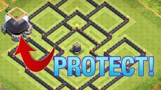 getlinkyoutube.com-Clash of Clans - NEW Town Hall 9 (TH9) Dark Elixir Farming Base