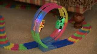 getlinkyoutube.com-Mindscope Neon Glow Twister Tracks 360° Set