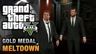 getlinkyoutube.com-GTA 5 - Mission #71 - Meltdown [100% Gold Medal Walkthrough]