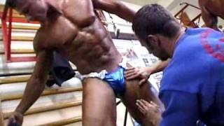 getlinkyoutube.com-bodybuilders getting oiled up.flv
